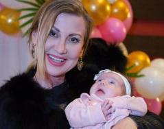 Снимки от погачата на първата внучка на Илиана Раева