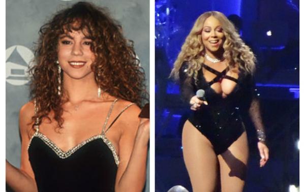 Марая Кери - преди и сега, как я промени славата