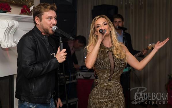 Миро и Рачков пяха за 50-тия рожден ден на Малина