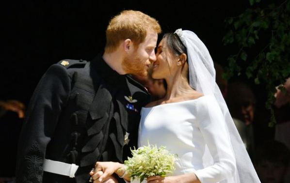 Принц Хари и Меган си казаха
