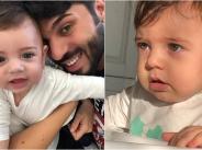 Фики сподели първи кадри със сина си width=
