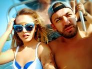 Гери-Никол и Дамян Попов заедно на яхта