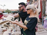 Цветелина Янева на шопинг в Маракеш