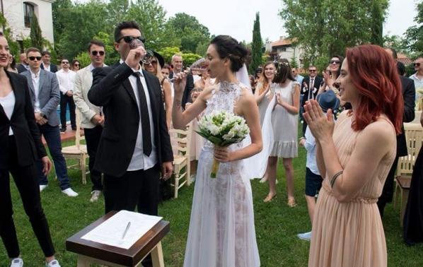 Луиза Григорова отбеляза 1 година семеен живот