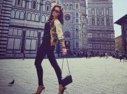 Галена на моден тур в Италия