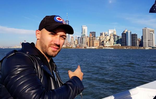 Дамян Попов с пътешествие до Ню Йорк