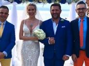 Антония Петрова се омъжи