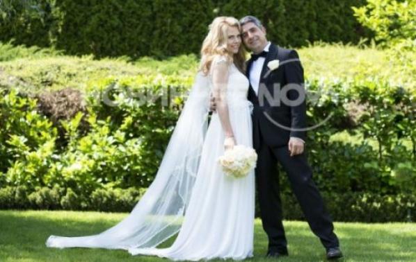 Деси Банова и Росен Плевнелиев се ожениха тайно в България