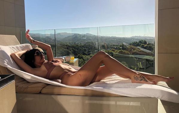 Моника Валериева на ваканция в Испания
