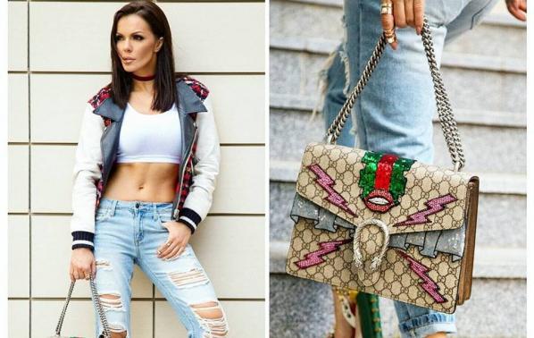 Галена инвестира 5000 долара в Gucci
