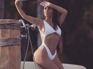 Ким Кардашиян взриви фейсбук със снимки от плажовете на Мексико