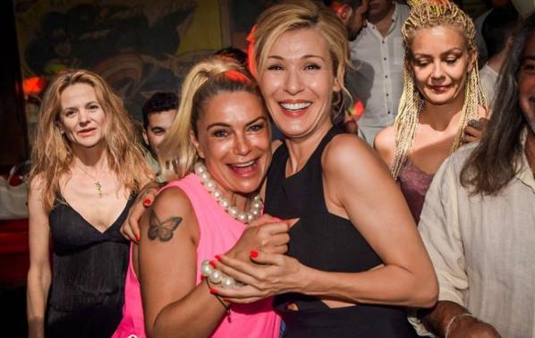 Снимки от партито за рождения ден на Кремена Халваджиян