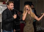 Миро и Рачков пяха за 50-тия рожден ден на Малина width=