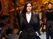 Моника Белучи - голямата звезда на Седмицата на модата в Милано width=
