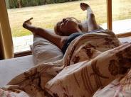 Ето как се буди Гала сутрин