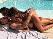 Моника Валериева се натиска с Филип Плейн в Монте Карло