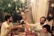 На Коледа Камелия заложи на традиционни български гозби, разбира се в компанията на своя дългогодишен приятел Цветин и семейството си