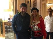 Малина на среща с лидера на Чеченската република width=